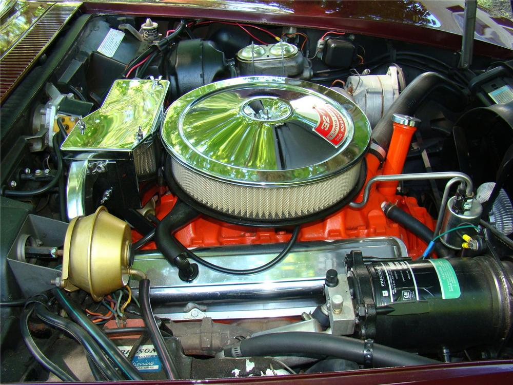 1968 CHEVROLET CORVETTE COUPE - Engine - 75113