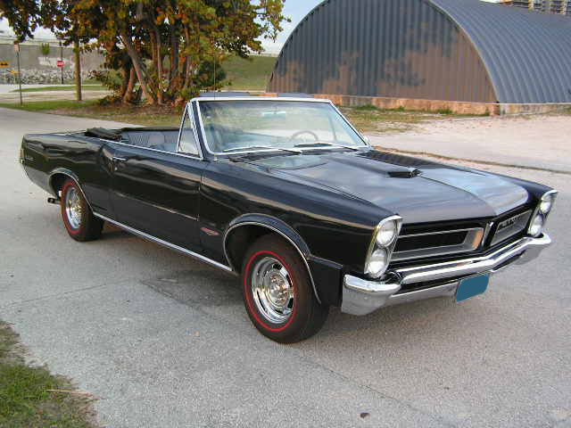 1965 PONTIAC GTO CONVERTIBLE RE-CREATION - Front 3/4 - 75115