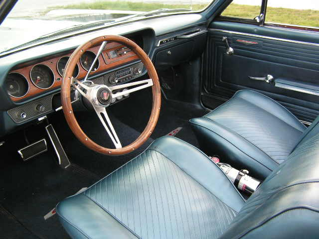 1965 PONTIAC GTO CONVERTIBLE RE-CREATION - Interior - 75115