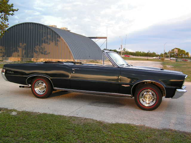 1965 PONTIAC GTO CONVERTIBLE RE-CREATION - Side Profile - 75115