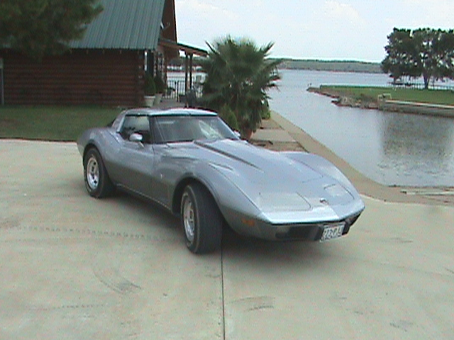 1978 CHEVROLET CORVETTE COUPE 25TH ANNIVERSARY EDITION - Front 3/4 - 75119