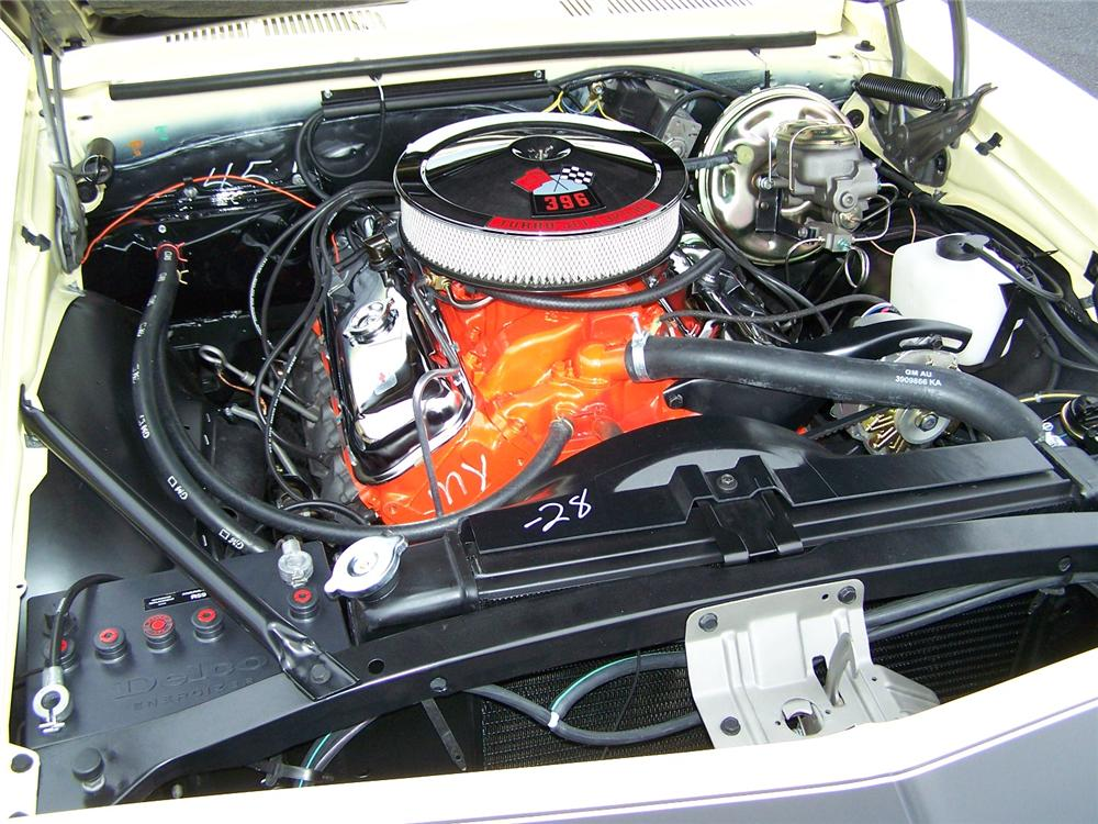 1968 CHEVROLET CAMARO RS/SS COUPE - Engine - 75125