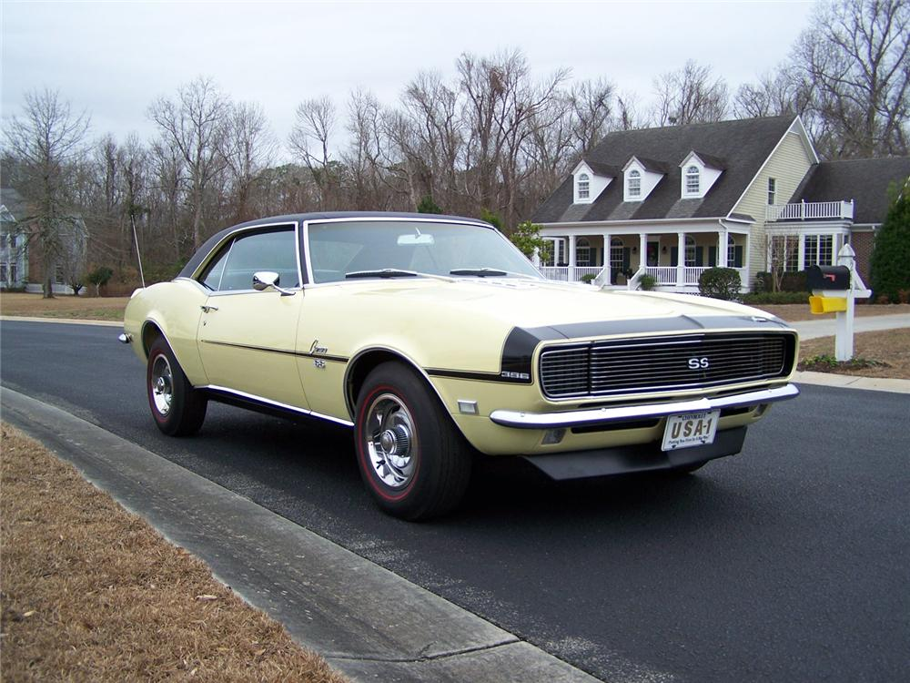 1968 CHEVROLET CAMARO RS/SS COUPE - Front 3/4 - 75125