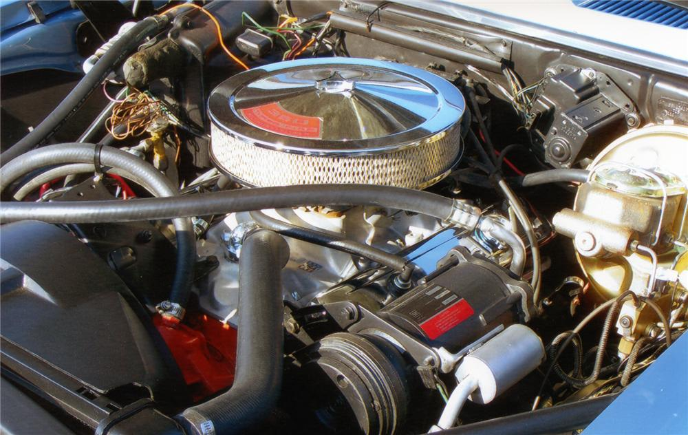 1969 CHEVROLET CAMARO SS COUPE - Engine - 75126