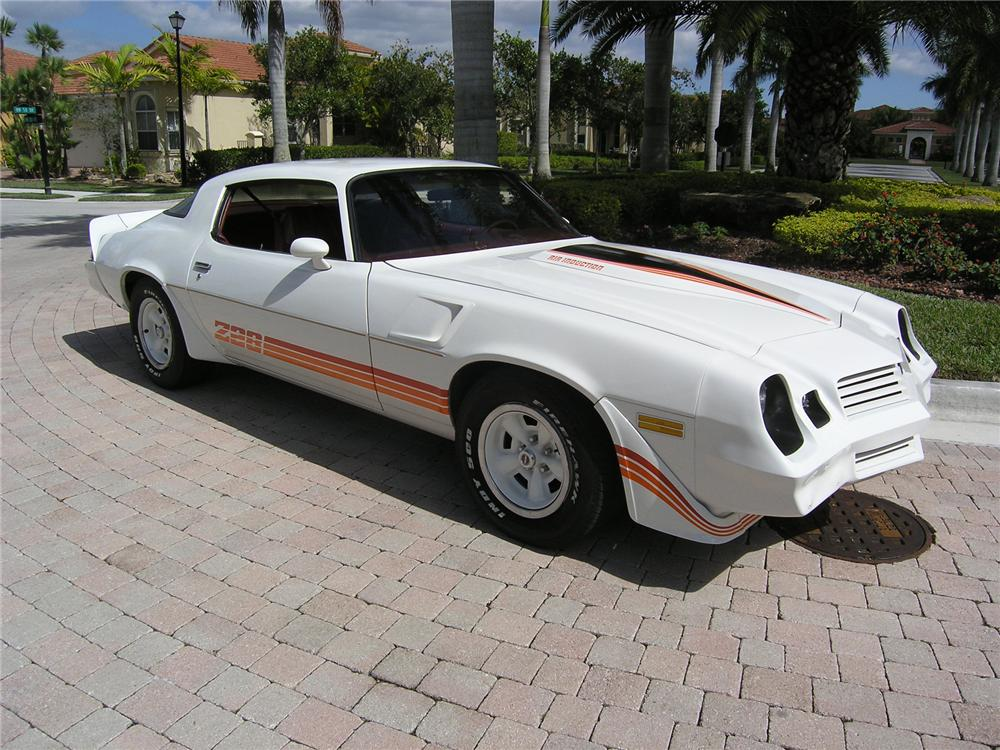 1980 CHEVROLET CAMARO Z/28 COUPE - Front 3/4 - 75129
