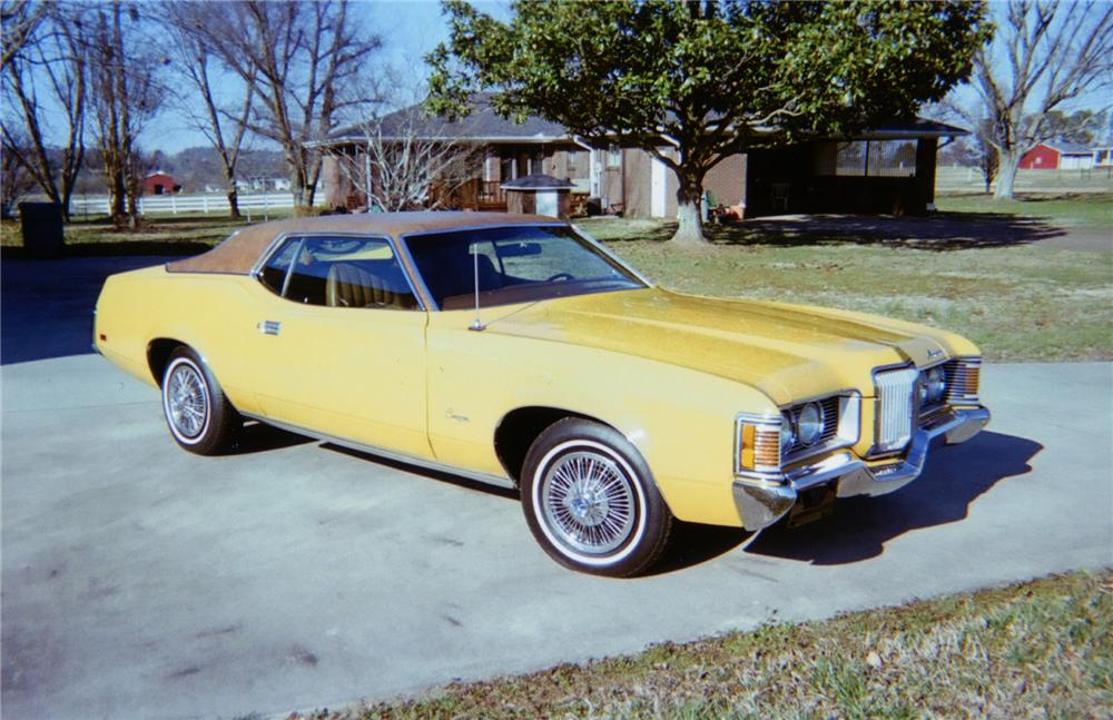 1971 MERCURY COUGAR COUPE - Front 3/4 - 75142