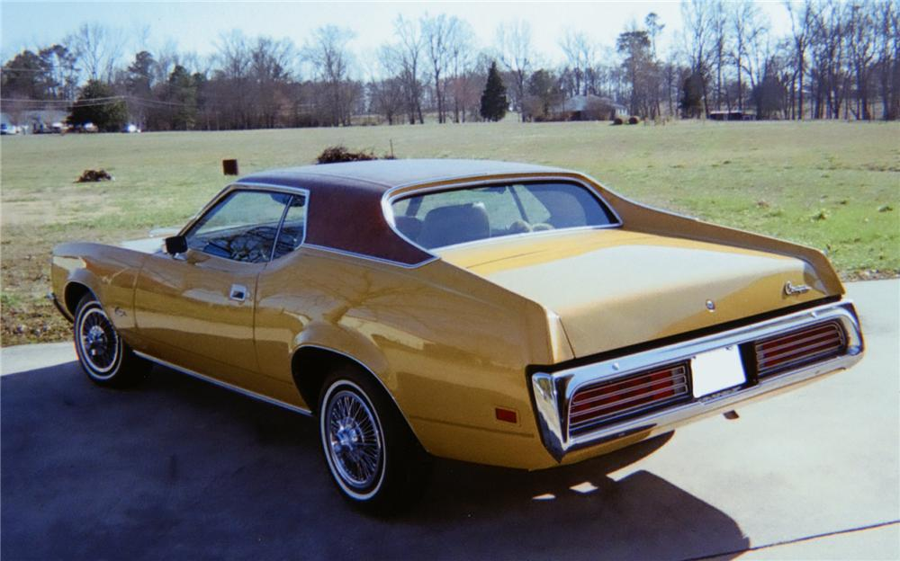 1971 MERCURY COUGAR COUPE - Rear 3/4 - 75142
