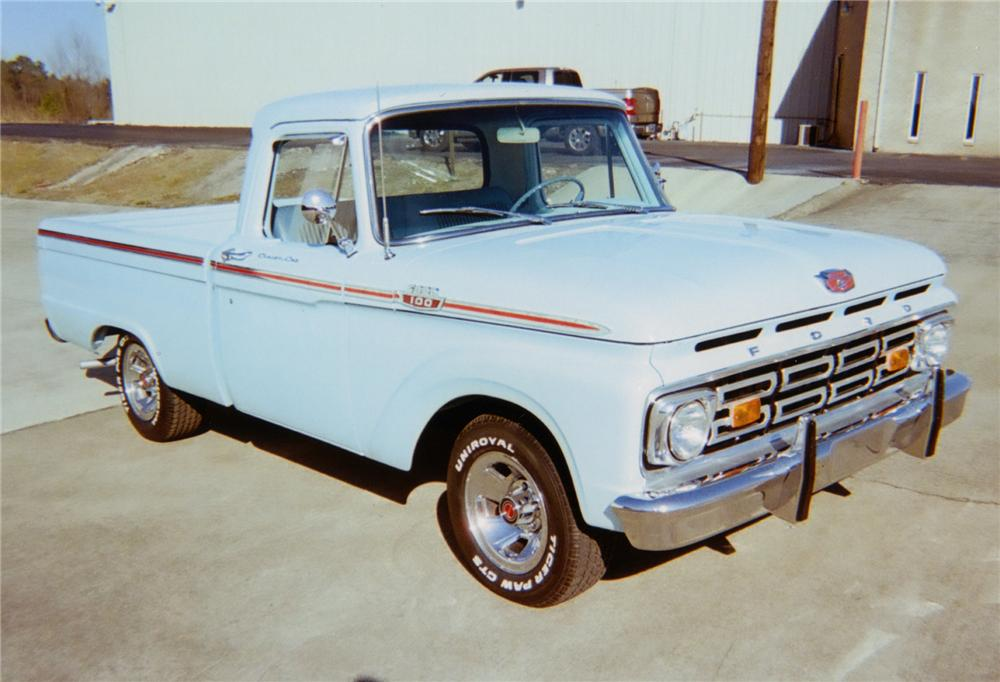 1964 FORD F-100 SWB PICKUP - Front 3/4 - 75143