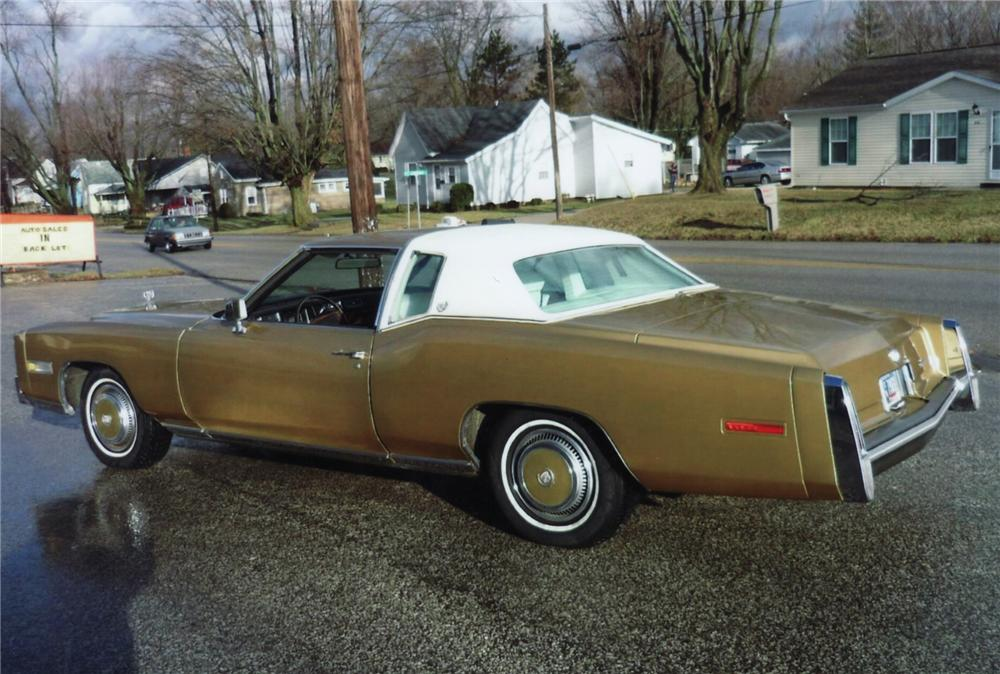 1977 CADILLAC ELDORADO 2 DOOR COUPE - Rear 3/4 - 75144
