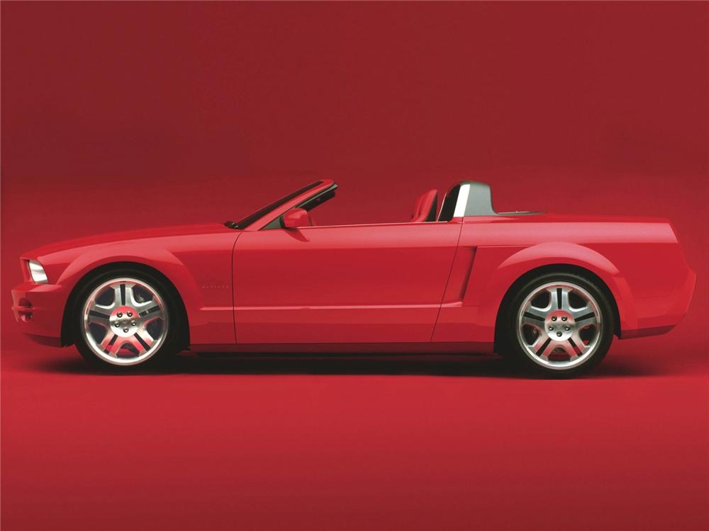 2004 FORD MUSTANG GT CONVERTIBLE CONCEPT - Side Profile - 75153