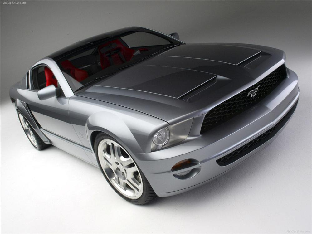 2004 FORD MUSTANG GT COUPE CONCEPT - Front 3/4 - 75155