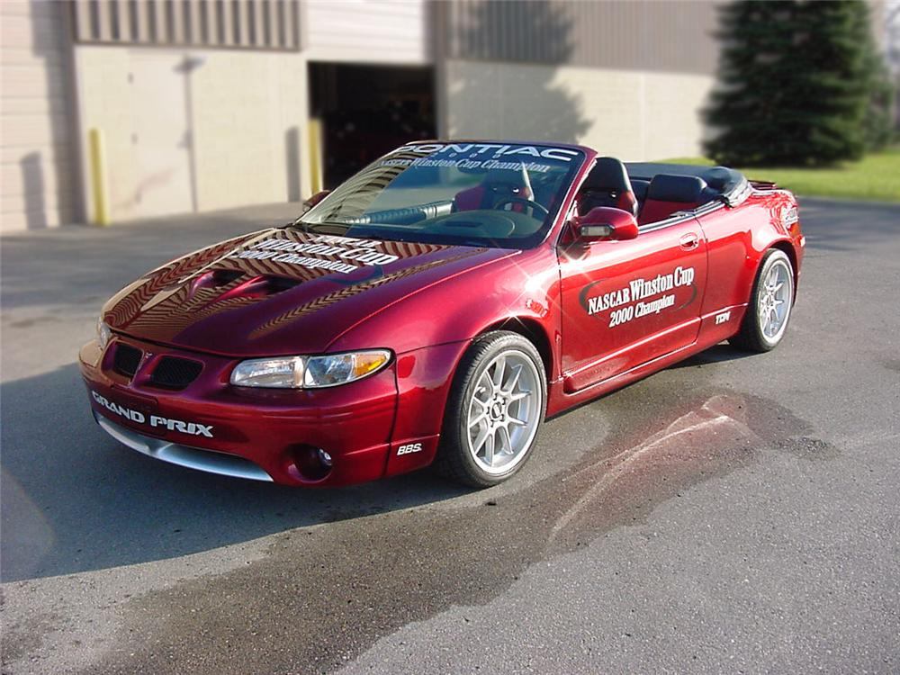 1998 PONTIAC GRAND PRIX CONVERTIBLE PACE CAR - Front 3/4 - 75186