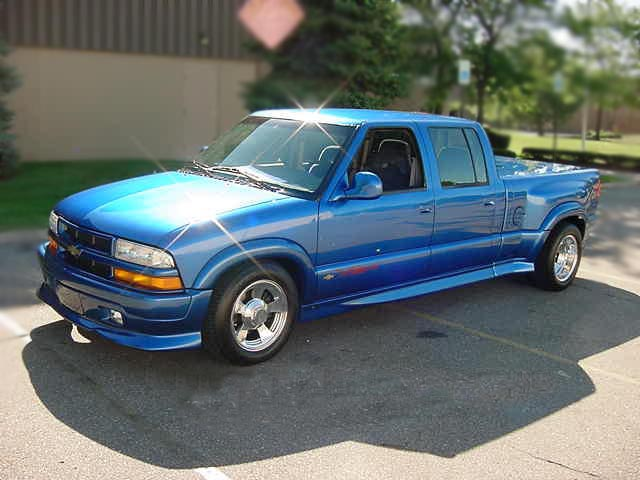 1996 chevrolet s 10 xtreme custom crew cab duallie 75190. Black Bedroom Furniture Sets. Home Design Ideas