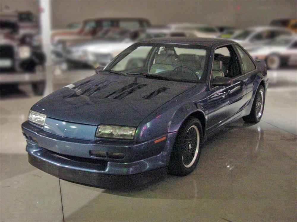1987 CHEVROLET BERETTA TWIN-CAM V8 CUSTOM COUPE - Front 3/4 - 75199