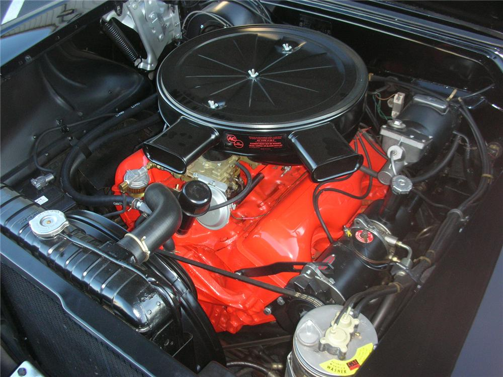 1958 CHEVROLET IMPALA 2 DOOR HARDTOP - Engine - 75224