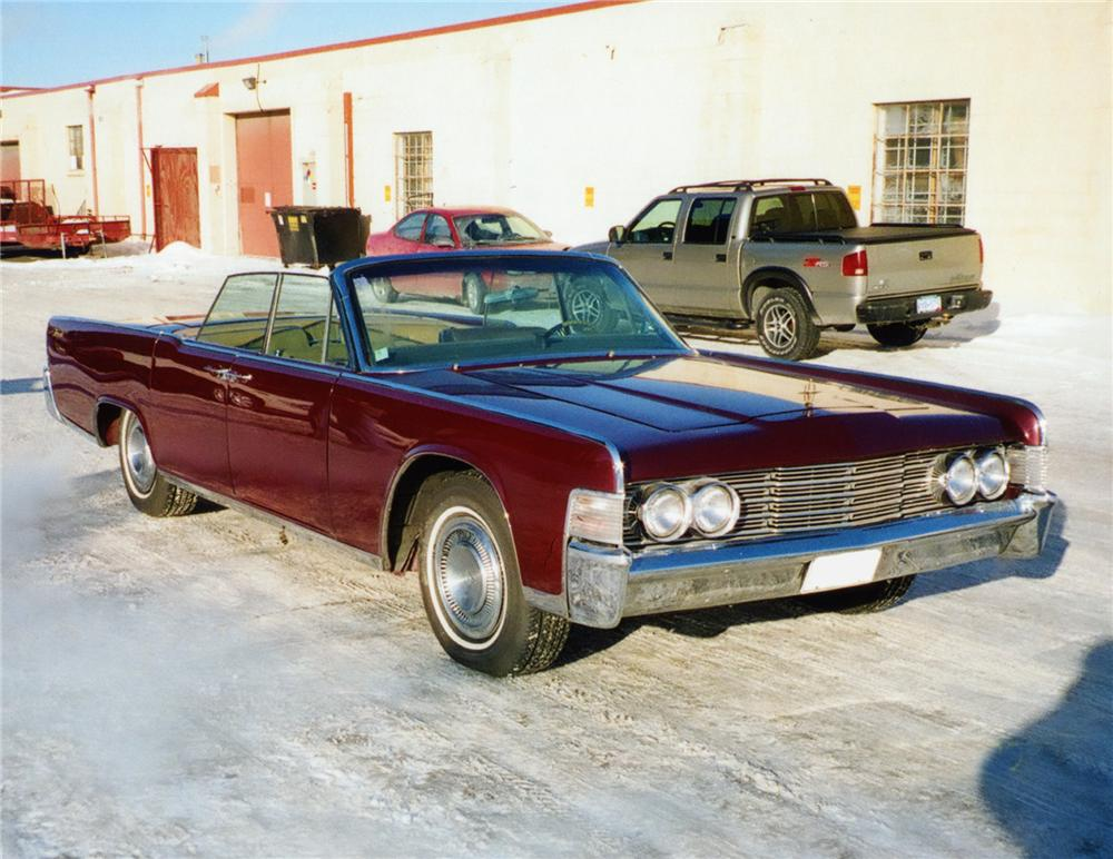 1965 lincoln continental convertible 75229. Black Bedroom Furniture Sets. Home Design Ideas