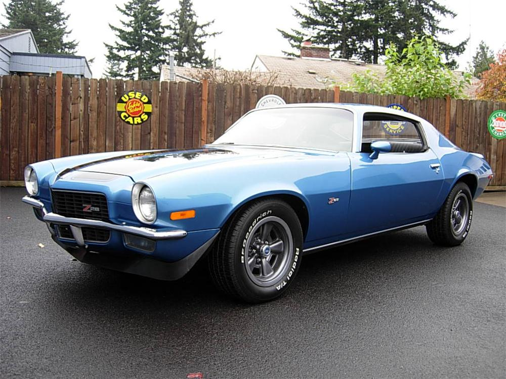 1970 CHEVROLET CAMARO Z/28 COUPE - Front 3/4 - 75238
