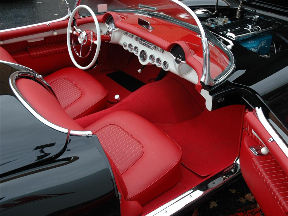 1954 CHEVROLET CORVETTE CONVERTIBLE - Interior - 75245