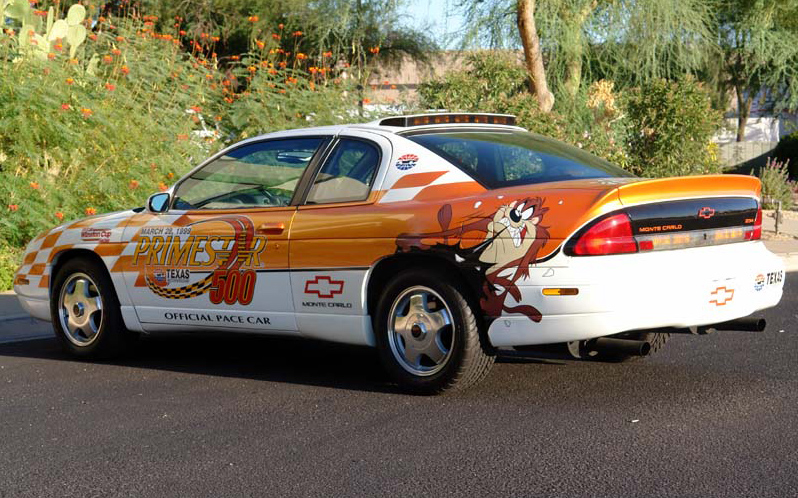 1998 CHEVROLET MONTE CARLO COUPE NASCAR PACE CAR #5 - Rear 3/4 - 75247