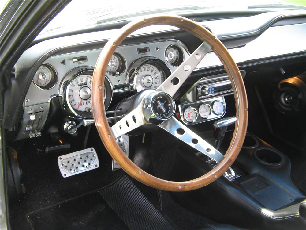 1967 FORD MUSTANG GTA CUSTOM FASTBACK - Interior - 75249