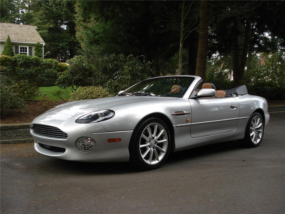 2003 aston martin db 7 vantage volante convertible 75261. Black Bedroom Furniture Sets. Home Design Ideas