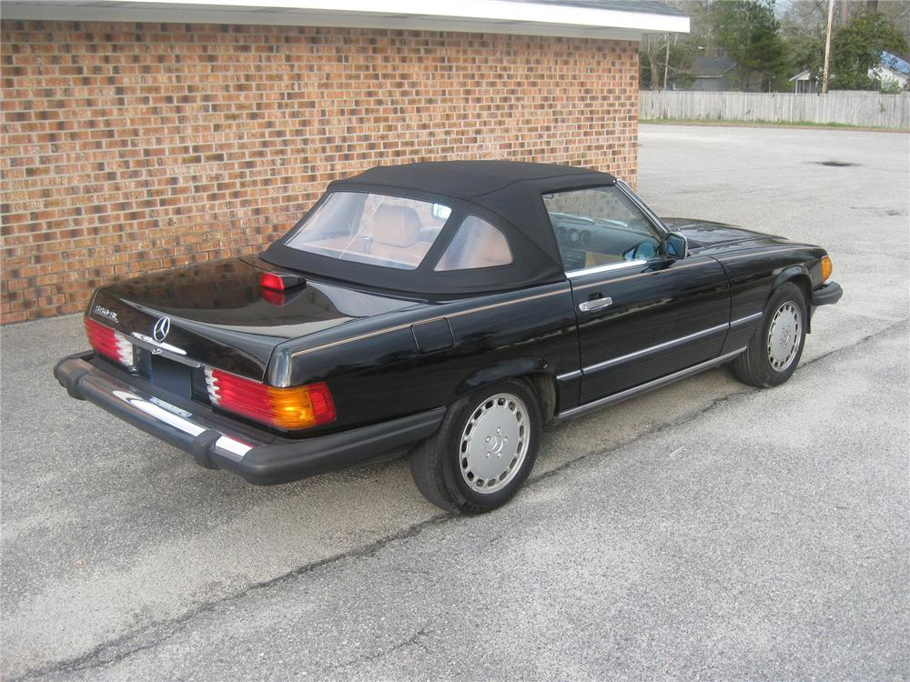 1987 mercedes benz 560sl convertible 75263