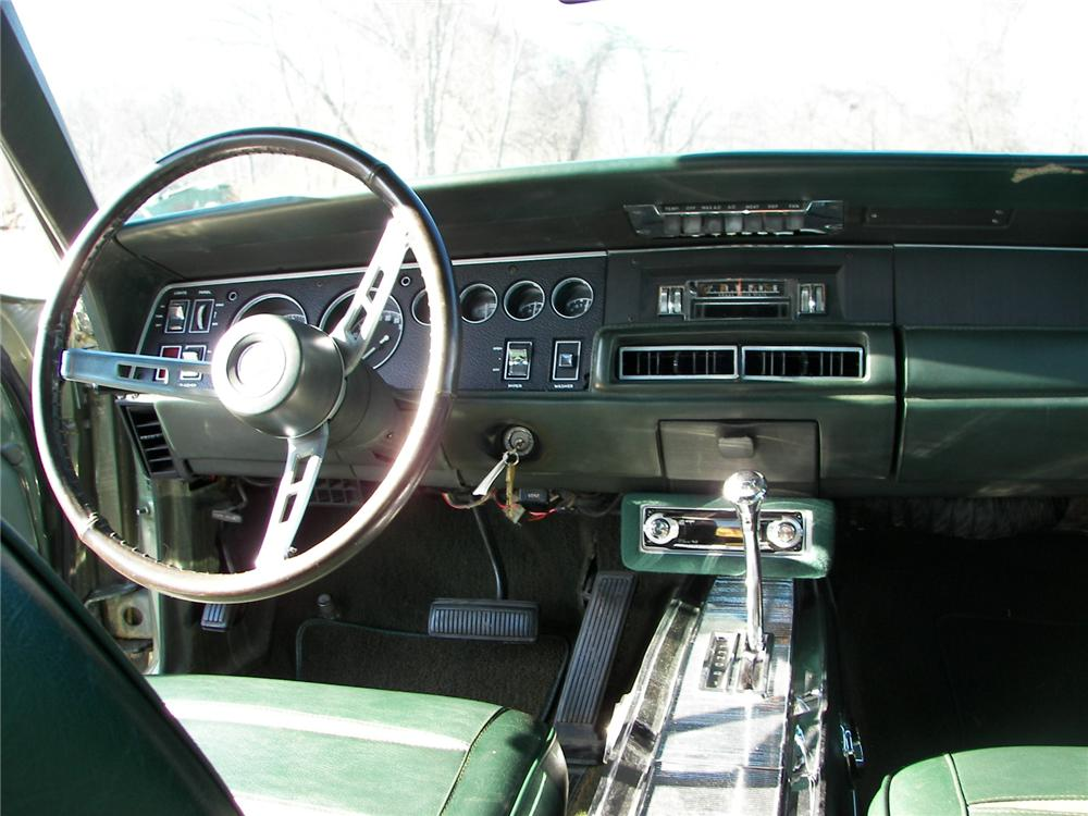 1968 DODGE CHARGER R/T COUPE - Interior - 75268