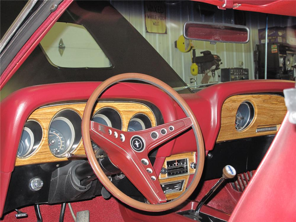 1969 FORD MUSTANG 428 SCJ MACH 1 FASTBACK - Interior - 75273