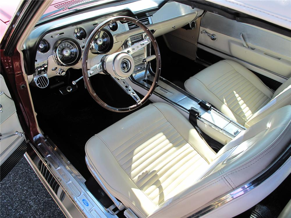 1967 ford mustang gta convertible 75274 for Interieur 78
