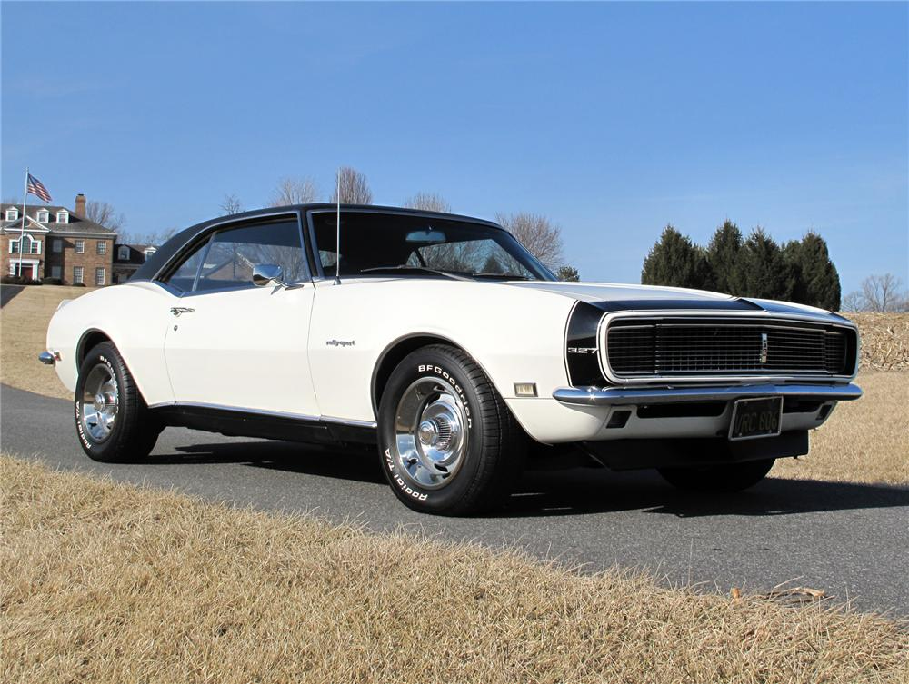1968 CHEVROLET CAMARO RS COUPE - Front 3/4 - 75277