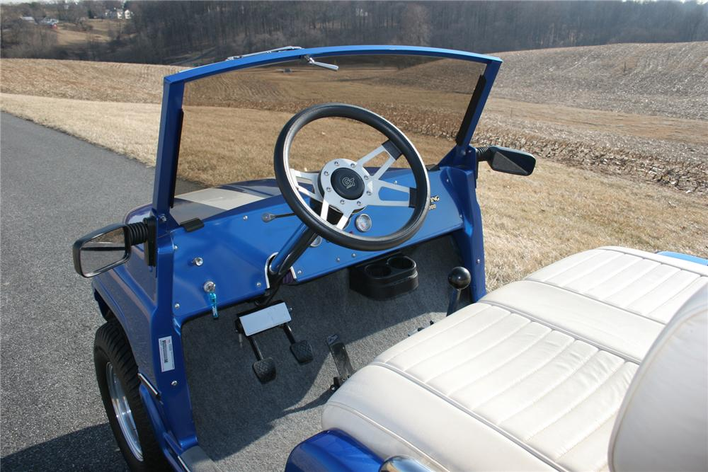2002 ASPT CUSTOM GOLF CART - Interior - 75283