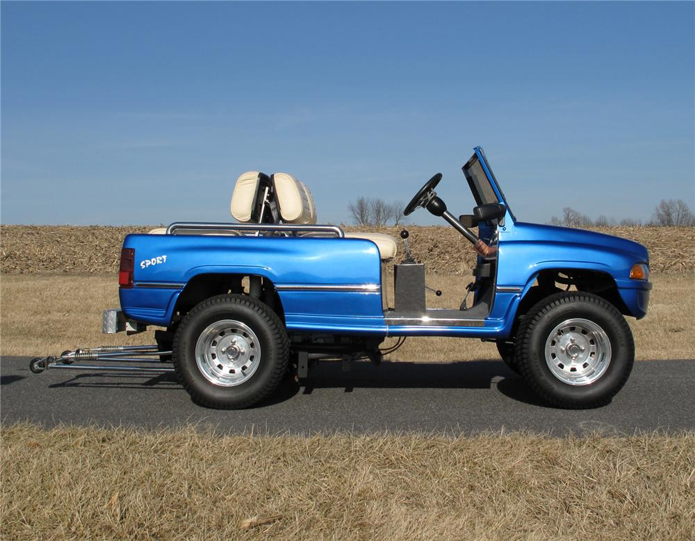 2002 ASPT CUSTOM GOLF CART - Side Profile - 75283