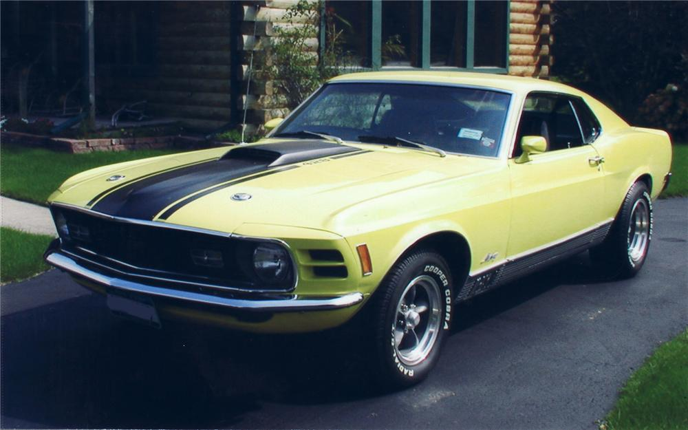 1970 FORD MUSTANG MACH 1 FASTBACK - Front 3/4 - 75284