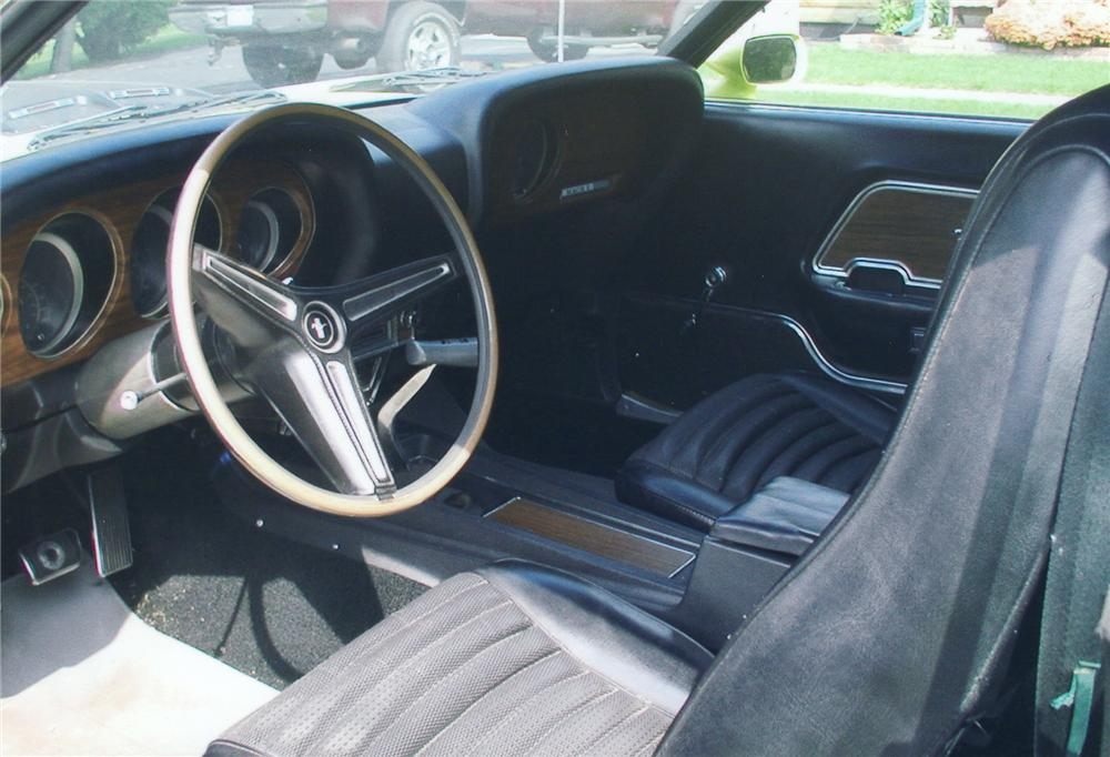 1970 FORD MUSTANG MACH 1 FASTBACK - Interior - 75284