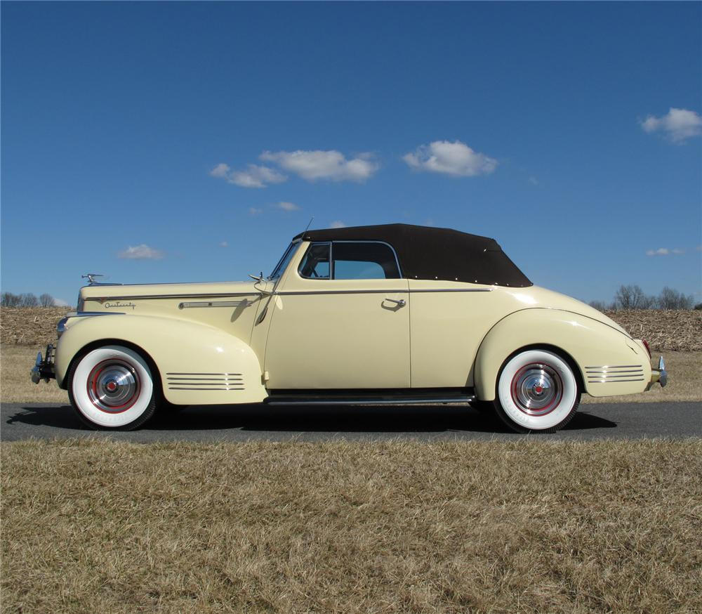 1941 packard 120 convertible side profile 75291