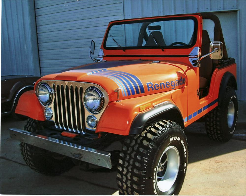 1980 jeep cj-5 convertible - 75328