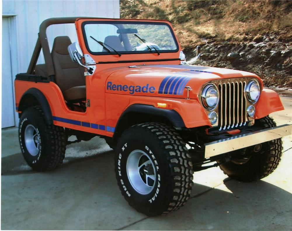 1980 Jeep Cj 5 Convertible 75328