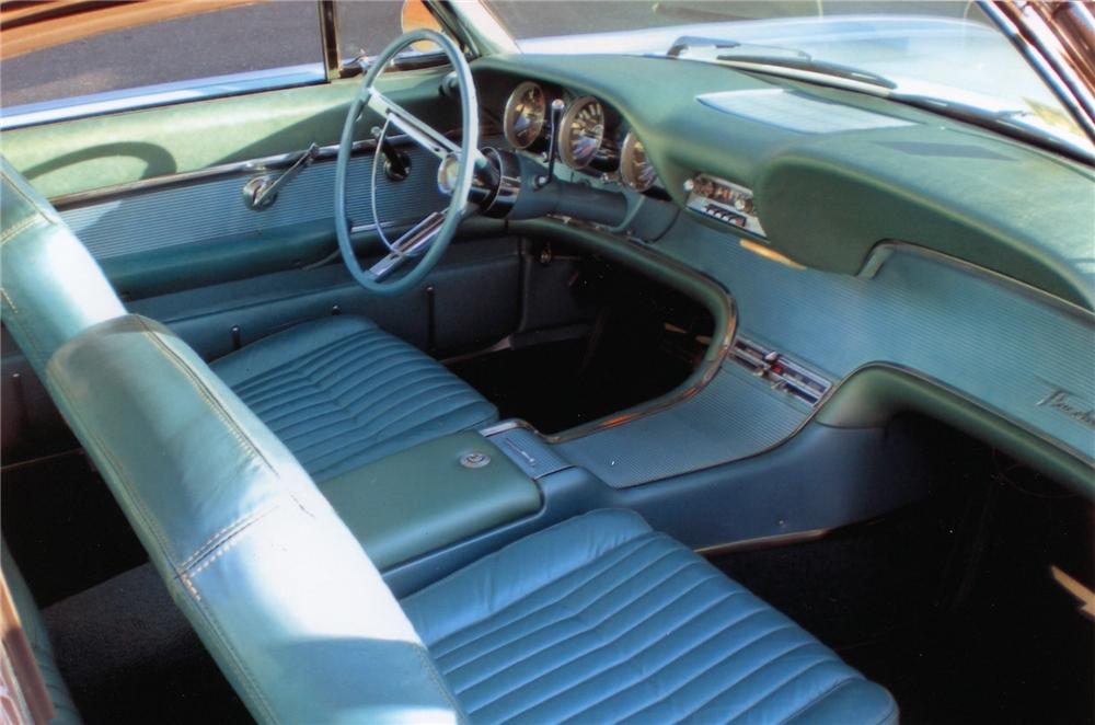 1961 FORD THUNDERBIRD 2 DOOR HARDTOP - 75351