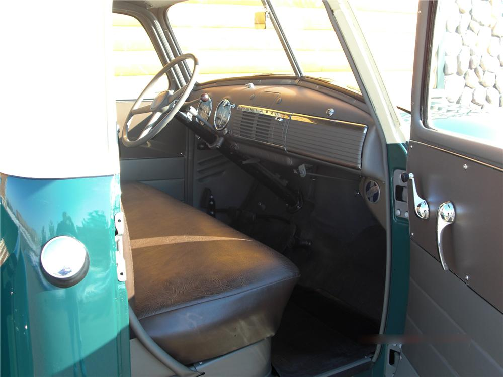 1949 CHEVROLET 3100 PICKUP - Interior - 75354