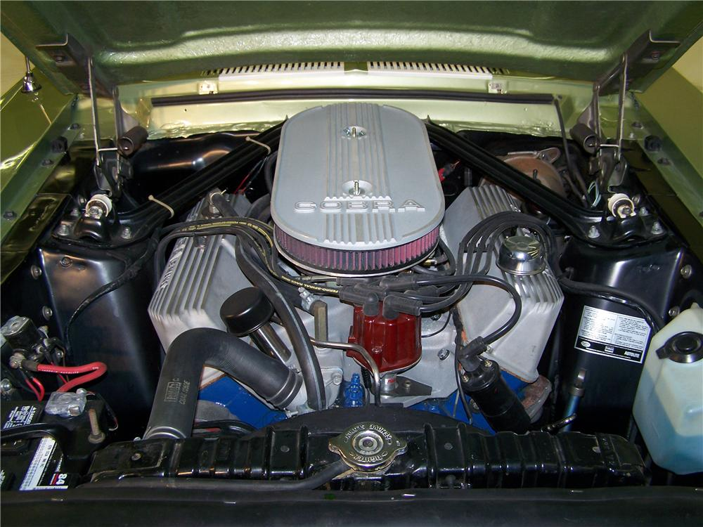 1967 SHELBY GT500 FASTBACK - Engine - 75359