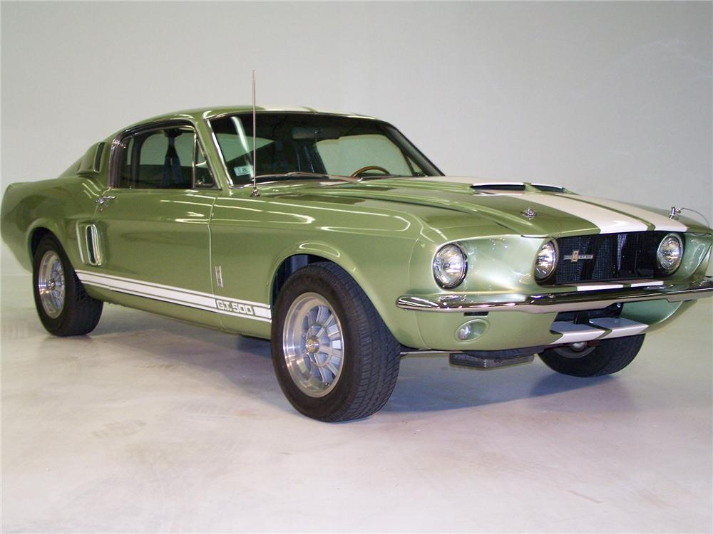 1967 SHELBY GT500 FASTBACK - Front 3/4 - 75359
