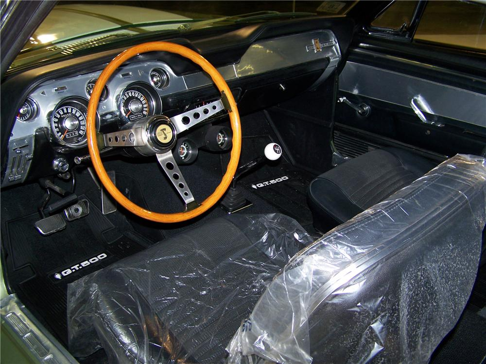 1967 SHELBY GT500 FASTBACK - Interior - 75359
