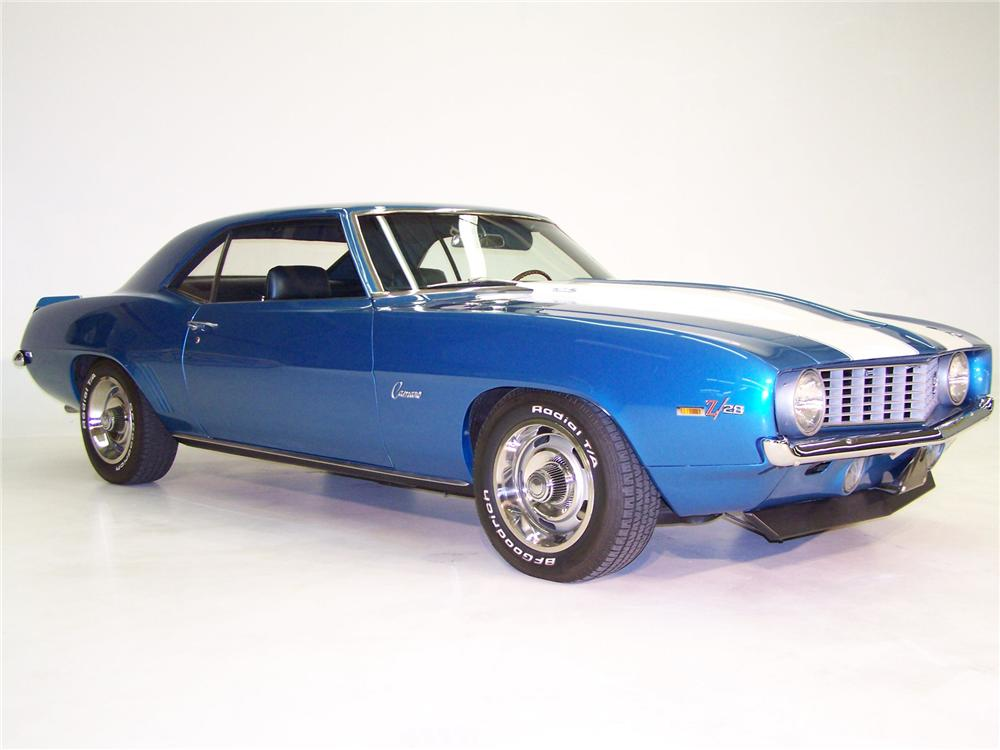 1969 CHEVROLET CAMARO Z/28 COUPE - Front 3/4 - 75360