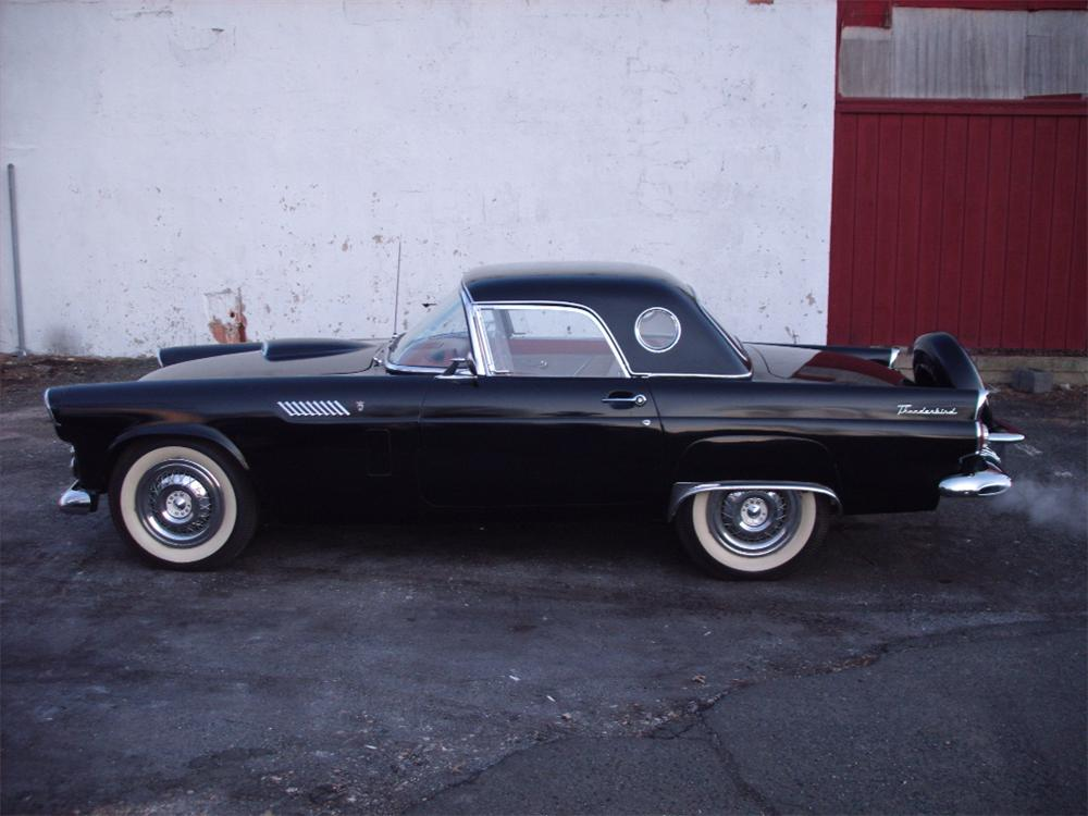 1956 FORD THUNDERBIRD CONVERTIBLE - Side Profile - 75369