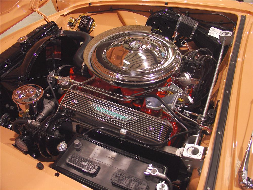 1957 FORD THUNDERBIRD CONVERTIBLE - Engine - 75372