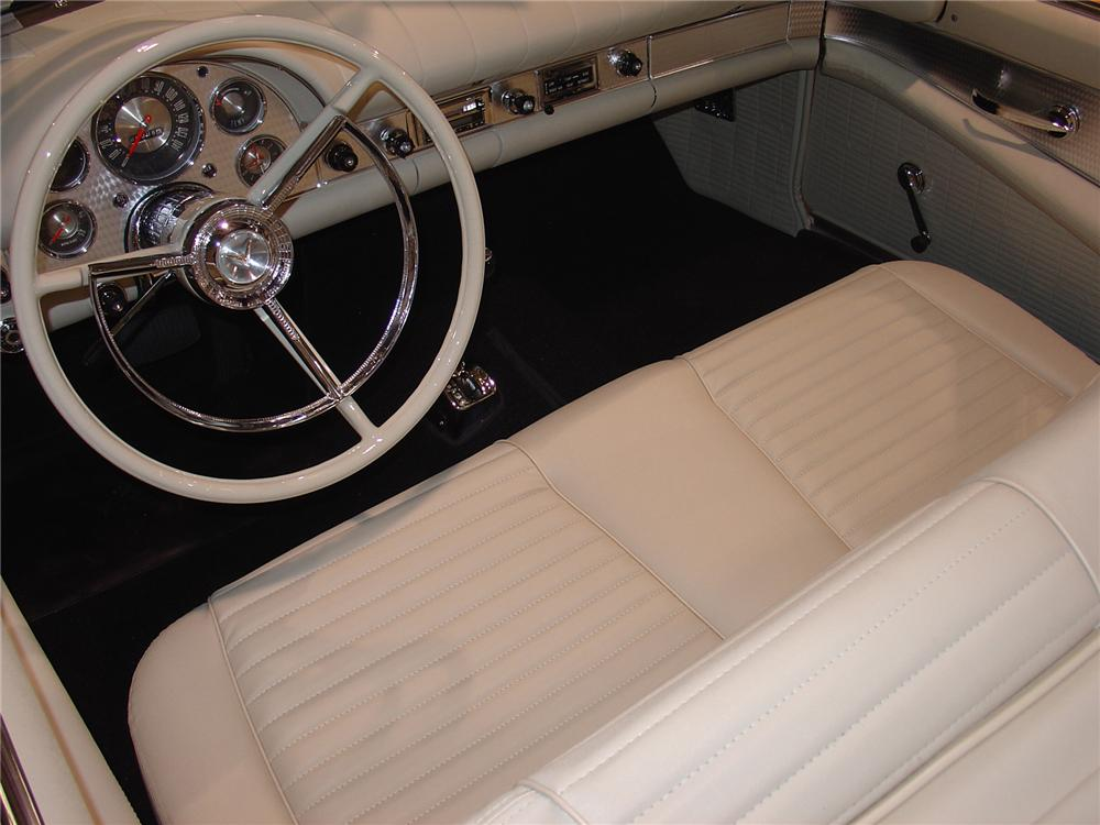 1957 FORD THUNDERBIRD CONVERTIBLE - Interior - 75372