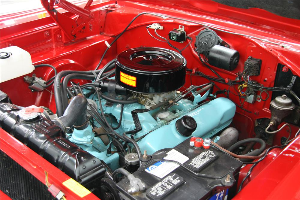 1966 PLYMOUTH SATELLITE CONVERTIBLE - Engine - 75378