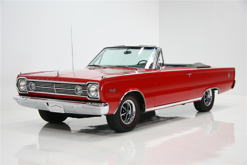 1966 PLYMOUTH SATELLITE CONVERTIBLE - Front 3/4 - 75378