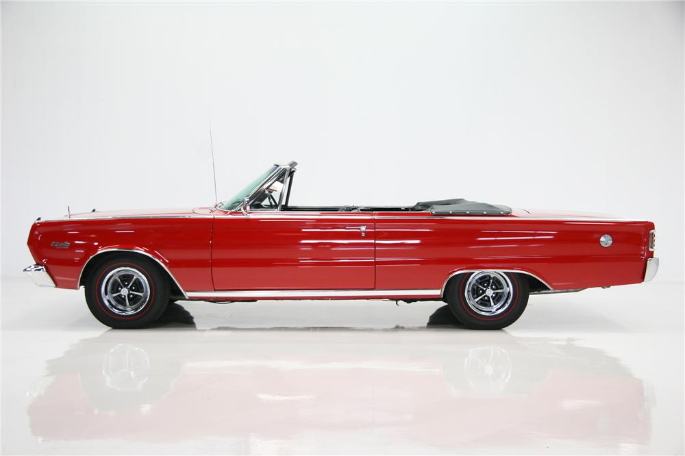 1966 PLYMOUTH SATELLITE CONVERTIBLE - Side Profile - 75378