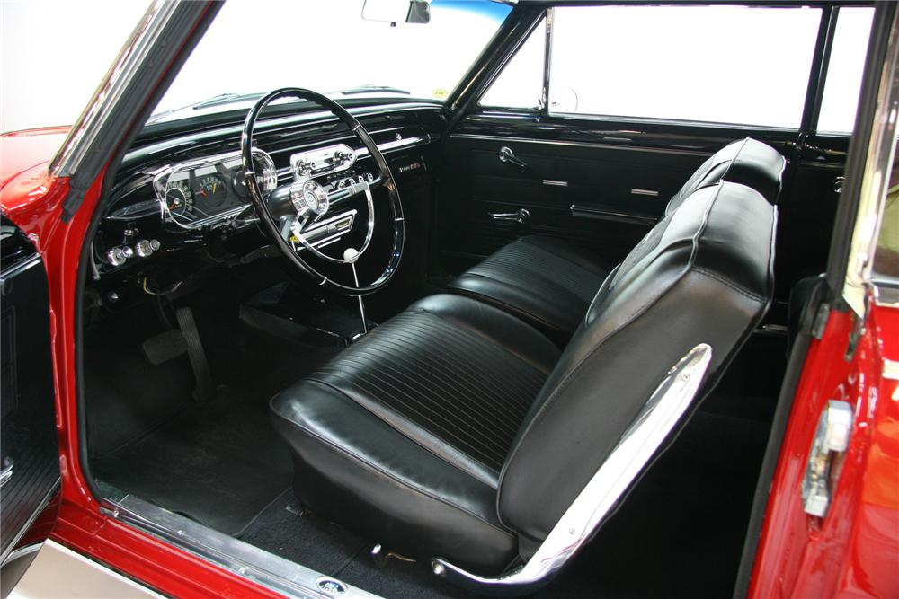 1963 CHEVROLET NOVA SS COUPE - Interior - 75379